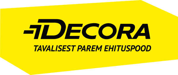 Decora yellow black logo